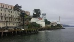 Ferry View of Alcatraz , Kamila C. K - April 2016