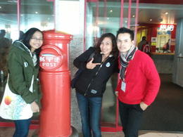 Us with the best tour guide, Kit!! , Lin M - April 2012
