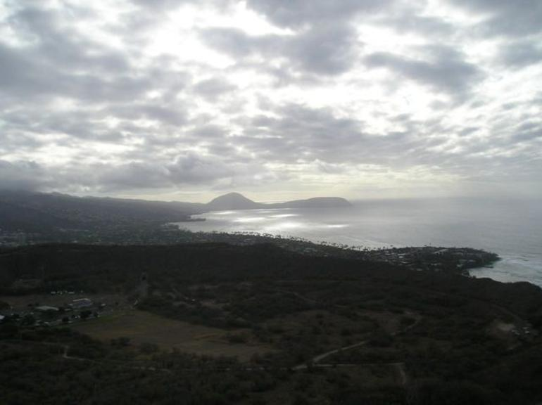 Looking north(ish) from Diamond Head - Oahu