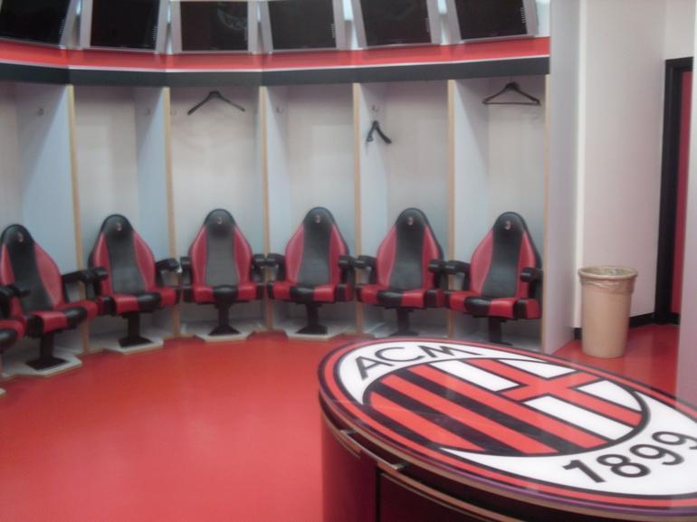 Milan Football San Siro Stadium Tour - Pre game instructions - Milan