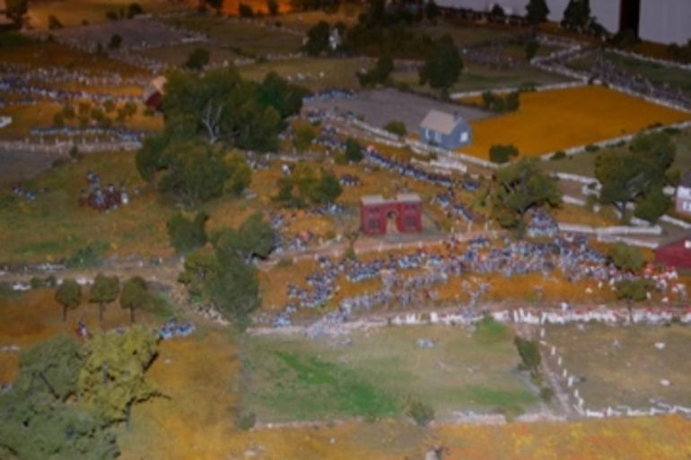 Model of Gettysburg battle - Washington DC
