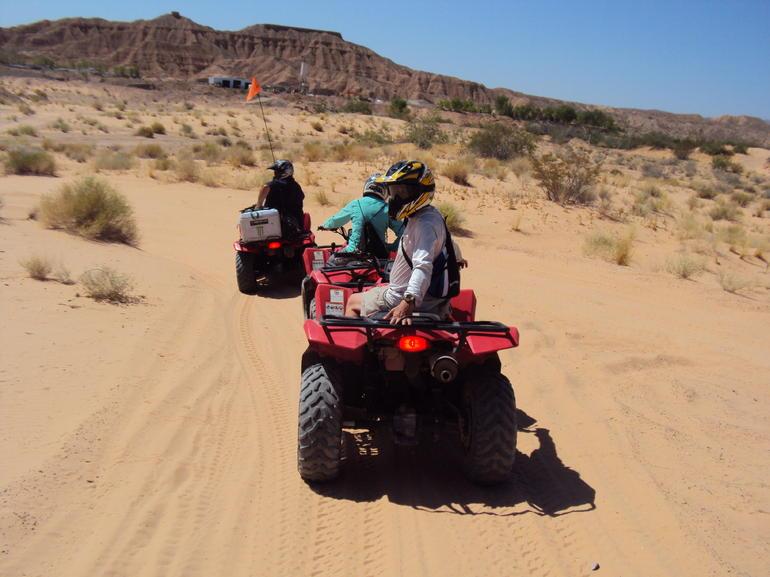 on the trail - Las Vegas