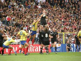 The New Zealand vs. Romania match in the 2007 Rugby World Cup in France., Tighthead Prop - September 2010