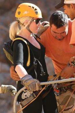 Getting harnessed. - March 2010