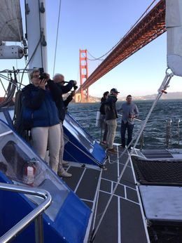 The view from under the Golden Gate is one that few have the opportunity to experience. Awesome! , Dustin H - August 2016