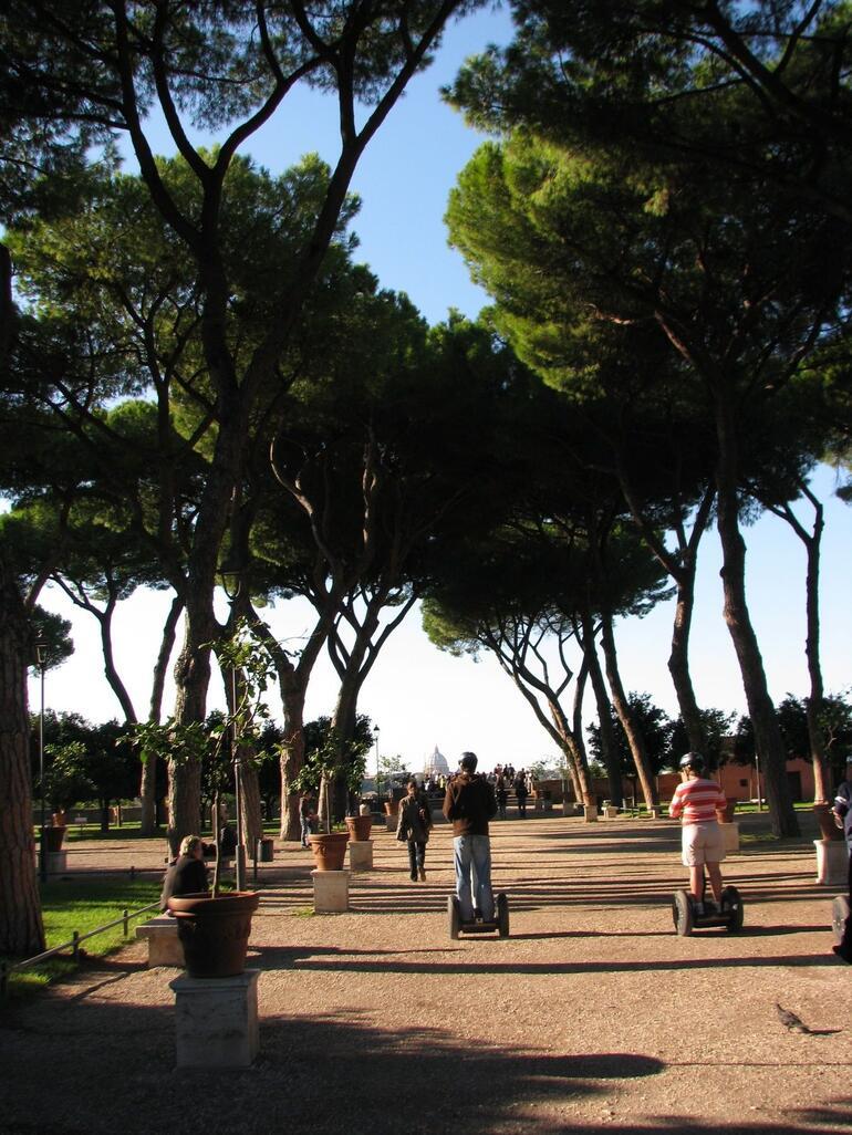 Segway-ing - Rome