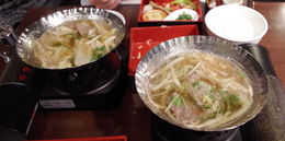 The Shabu-Shabu part of lunch. , Bill604 - November 2015
