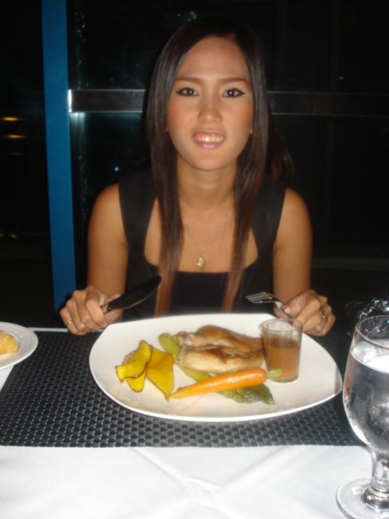 Singapore Flyer dinner - Singapore