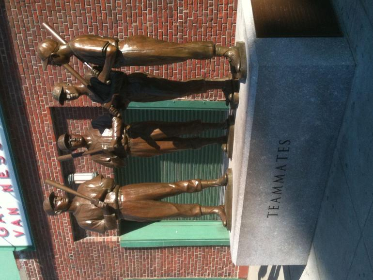 Teammates Statue, outside Fenway Park - Boston