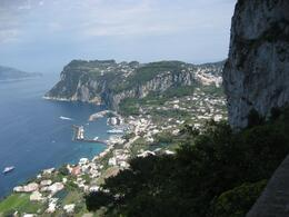 A photo taken from a trail atop of Anacapri., Tara M - July 2009