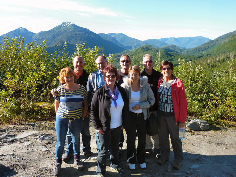 top of the mountain - Ketchikan