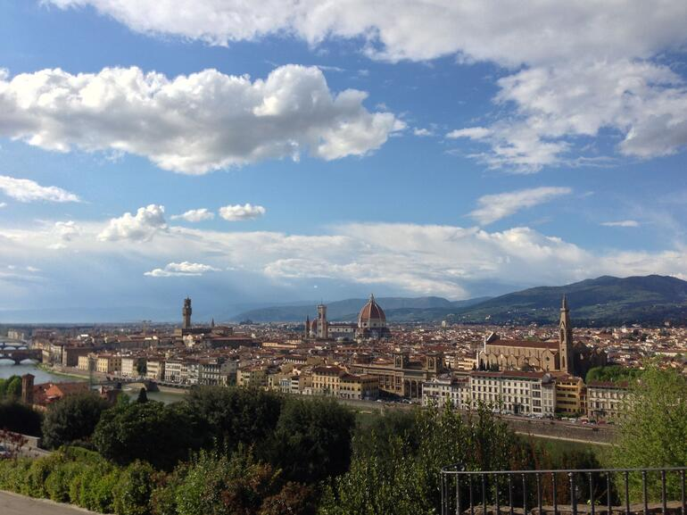 View of Florence - Rome