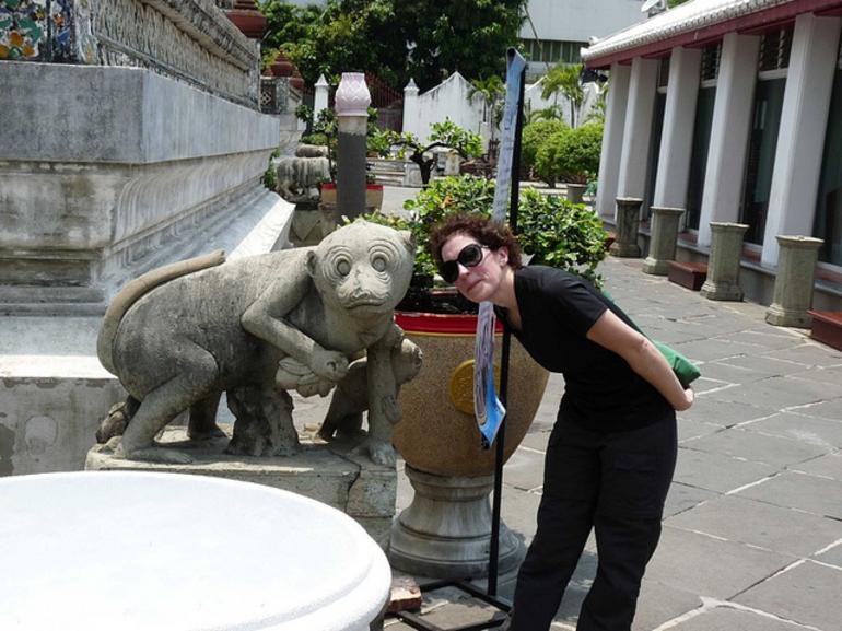 Wat Arun Monkey - Bangkok