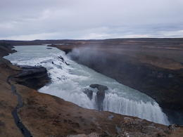 Gulfoss waterfall , Hanna J - December 2016