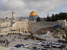 View of the Western Wall and the Dome of the Rock , Judy G - January 2017