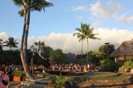 It was a beautiful Hawaiian day, complete with rainbow! , Erik - August 2017