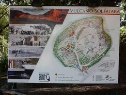 A map of Vulcano Solfatara. , John H - August 2017