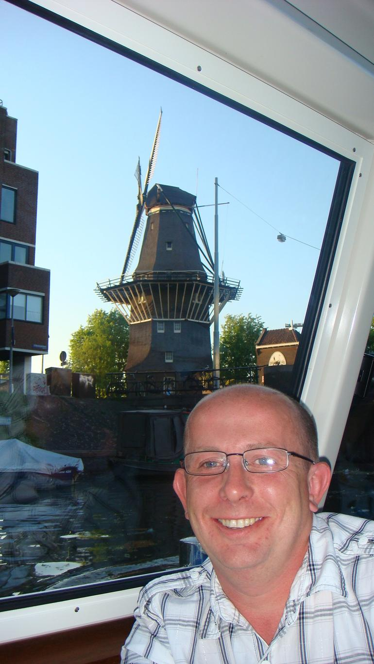 A Holland windmill - Amsterdam