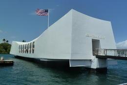 Arizona Memorial, Pearl Harbour , TravelTragic - April 2012