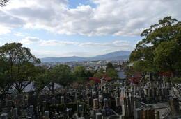 Schöne Sicht vom Tempelberg über Kyoto. , Susann K - December 2013