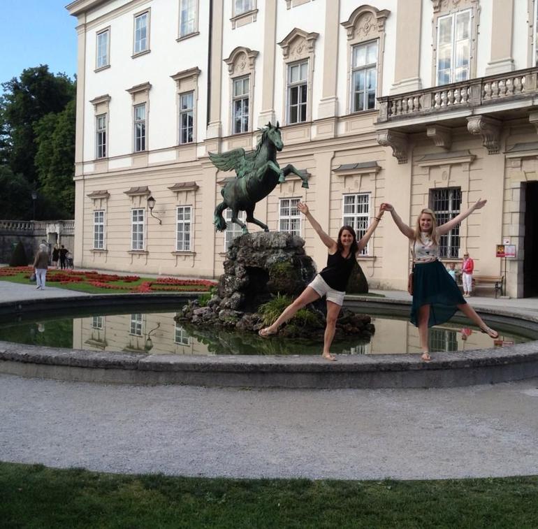 Fountain in Mirabell Gardens, Salzburg, Austria - Salzburg