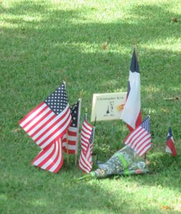 Texas State Cemetery , Shane S - November 2015