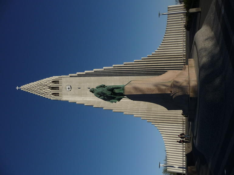 Hallgr�mskirkja Lutheran church of Reykjavik - Reykjavik