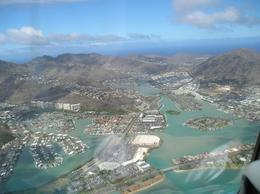 I believe this was shortly after take off heading towards Waikiki, ToddM - May 2010