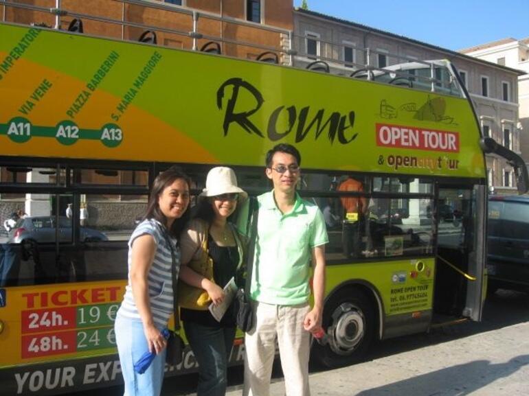 Our Tour Bus - Rome