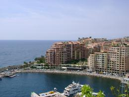 A photo to the south west from the lookout beside the Prince's Palace. Not part of the main harbour in Monaco., Kris M - June 2008