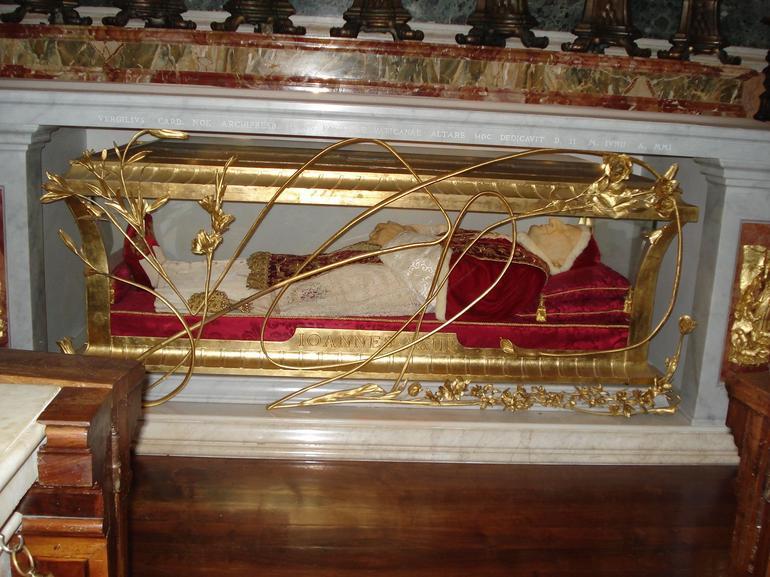 Pope John Paul XXIII's Tomb - Rome