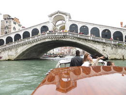 Rialto Bridge was beautiful , Cynthia J. N - July 2013
