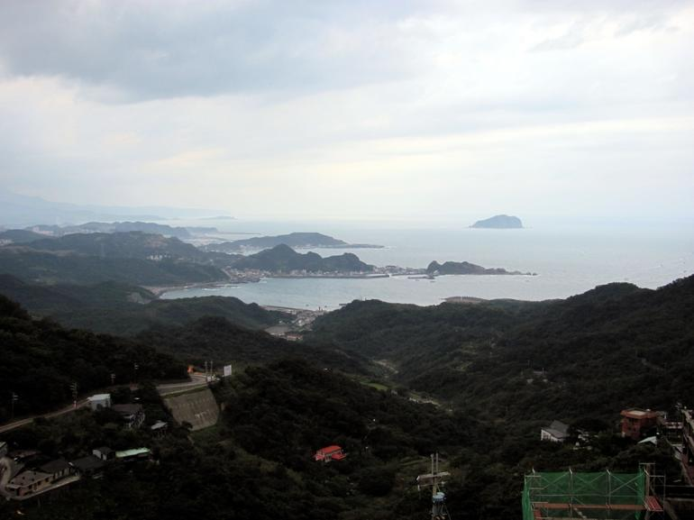 South China Sea from Jiufen - Taipei