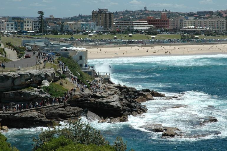The famous Bondi Beach - Sydney