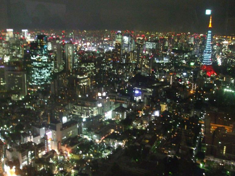 Tokyo city at night - Tokyo