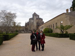 This is entering the courtyard of the Convent of Christ, founded by the Templars. Beautiful place! , Claudia A - April 2014