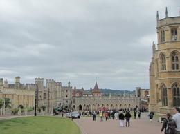 The lower part of Windsor castle, Helene - September 2012