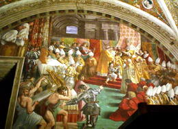 frescos by raphael , C S - October 2012