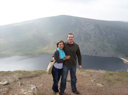 A stop along a rural road after Glendalough led to this beautiful opening and lake below! , Lynn H - September 2014