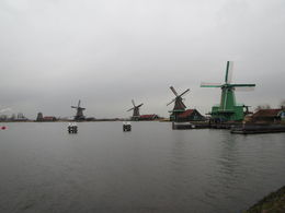 Wind Mills at Zaanse Schans , Jeff - March 2015