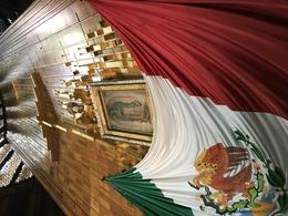 La Villa. Guadalupe shrine. , Lino V - January 2018