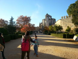 Nicula, our guide explaining to our son about the convent. , adriannah - January 2014