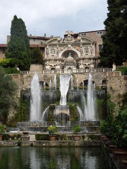 Small sample of the unbelievable fountain gardens at Villa D'Este , Dale L - September 2016