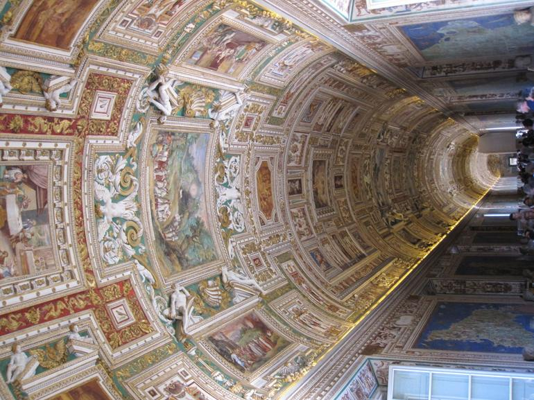Ceiling within the Vatican - Rome