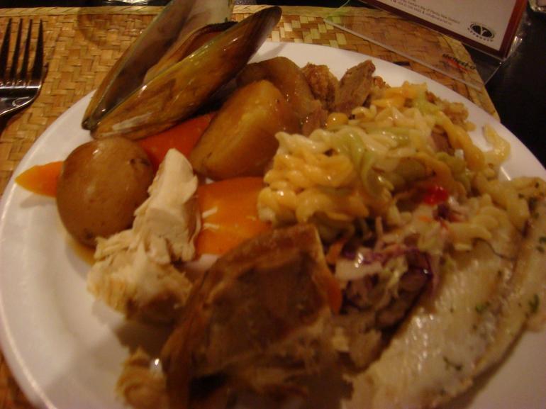 Hangi dinner - Rotorua