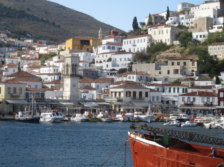 Hydra port - Athens