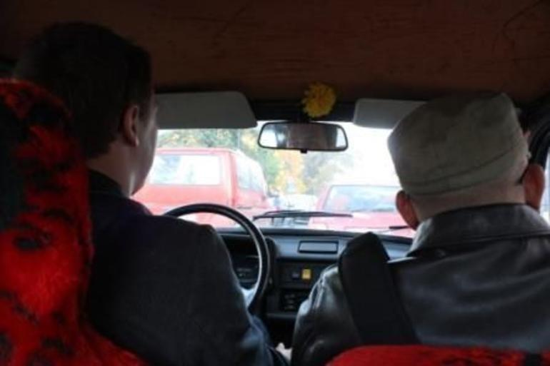 Inside the Trabant - Krakow