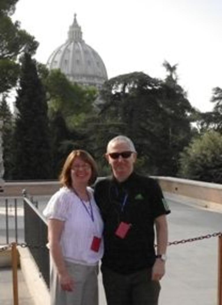 Jim and Ann in Rome - Rome