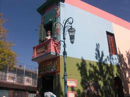 Typical building in La Boca, Yvette A - April 2010