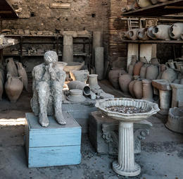 One of the preserved areas of Pompeii after their devastating and annihilating volcano eruption. , retiredone2007 - September 2016